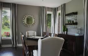 curtains with gray walls dining room gray wall ideas with yellow tile pattern grey