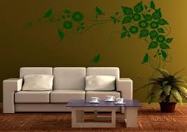 Living Room Wall Art Ideas Wall Art Decoration With Wallpapers Paintings And Stickers And