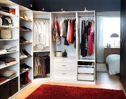 Ikea Fitted Wardrobe Interiors Pax Wardrobes With Komplment Interiors Organize Everything From