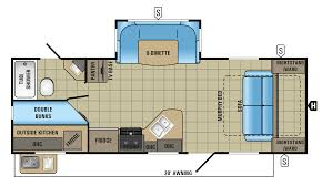 2018 jayco white hawk 24mbh floor plan