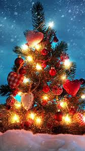 christmas tree love decorations iphone 6 wallpapers hd