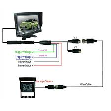 sales wired night vision backup car camera system for tower