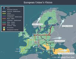Eu Countries Map Competing Visions Reconnecting Asia