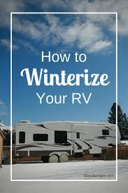 sanidumps instructions on how to winterize your rv