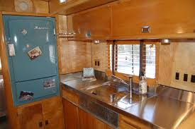Interior Of Kitchen Vintage Trailer Interiors From The 1940 U0027s From Oldtrailer Com