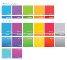 android color translating android and ios 7 colors get there from here