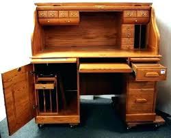 used solid oak desk for sale solid oak rolltop desk emergencyplumbercambridge co