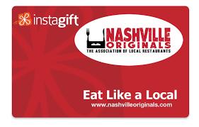 discounted restaurant gift cards nashville originals city s independent restaurant organization