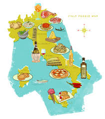 italy map italy food map 16 italian foods and drinks you to try