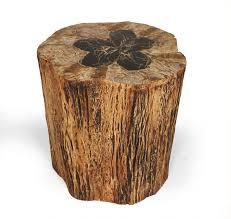 tree stump table base incredible clark functional art clarowalnut burl slab tree trunk