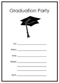 templates for graduation announcements free free graduation party invitation templates free graduation party