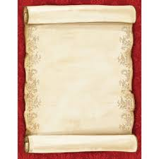 Scroll Invitation Cards Christmas Scroll Walmart Com