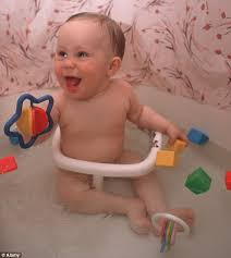 bathtub rings for infants warning over baby bath seats and leaving children unattended after