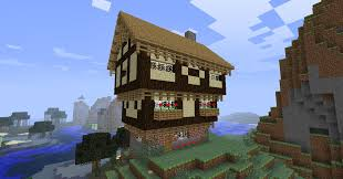 minecraft tudor house by niegelvonwolf on deviantart