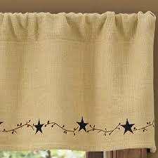Yellow Gingham Valances by Primitive Curtains And Country Valances For Country Home Decorating
