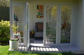 Summer House In Garden - a home tour around a bright and eclectic family home roost blog