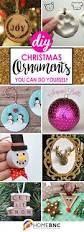 Homemade Christmas Ornaments Ideas by 50 Incredible Diy Christmas Ornament Tutorials For 2017