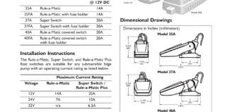 rule super switch wiring diagram best wiring diagram 2017