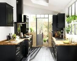 cuisine noir bois cuisine noir mat et bois cuisine noir et blanc et bois cuisine mat