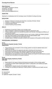 Objective For Nursing Resume Download Oncology Nurse Resume Haadyaooverbayresort Com