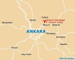 ankara on world map ankara maps and orientation ankara turkey