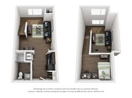 Studio Loft Apartment Floor Plans by University Of Nebraska Lincoln Apartments Studio Loft 1100 Y
