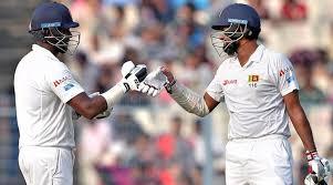 india vs sri lanka 1st test two half centuries marks for