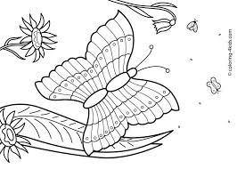 delightful free printable summer coloring pages kids page free