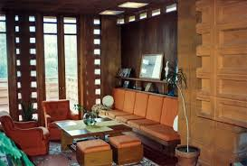 frank lloyd wright home interiors pappas house interior residence designed by frank lloyd flickr