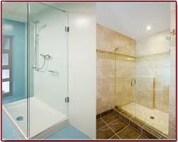 Shower Doors Bathtub Replacement Bathtubs Showers Glass Door Install New Smyrna