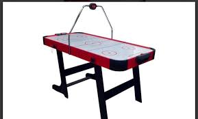 foldable air hockey table 5ft electronic folding air hockey table brand new in box in