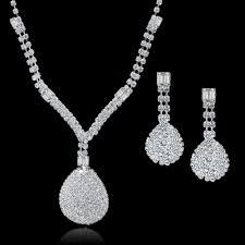 wedding jewellery sets aliexpress buy toucheart wedding jewellery set