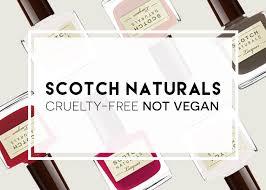 naturals is cruelty free but no longer vegan