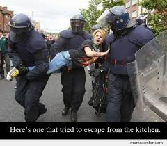 Woman Kitchen Meme - here is the one that tried to escape from kitchen by ben meme center