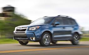 subaru outback xt 2014 subaru forester 2 5i limited xt first test truck trend