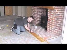 Trim Around Fireplace by Laminatemaster Co Uk Laminate Wood Flooring Undercut Stone