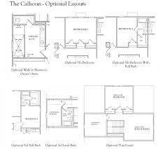 floor plan shower symbol the calhoun the providence group