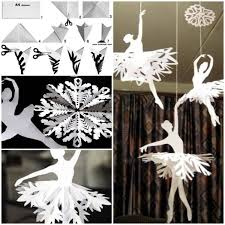 learn how to make paper snowflake ballerinas find