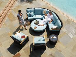 Teak Sectional Patio Furniture - 181 best outdoor furniture styles u0026 trends images on pinterest