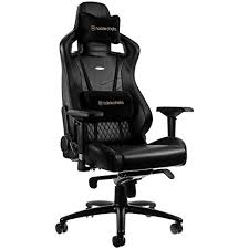 Real Leather Office Chair Noblechairs Epic Real Leather Gaming Chair Gaming Chairz