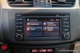 2013 nissan sentra interior infotainment and navigation picture