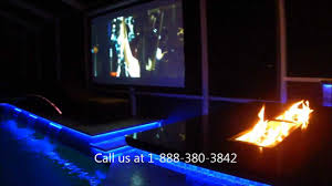 Outdoor Kitchen Lights Led Outdoor Kitchen And Pool Lighting Tampa Florida Youtube