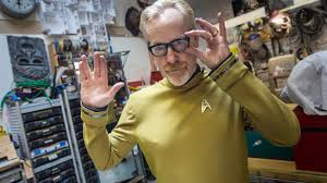 star trek halloween mask adam savage u0027s star trek beyond costume youtube