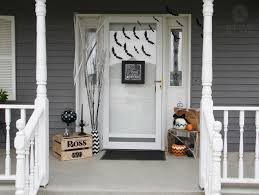 how to spook up the front door for halloween u2013 simply said