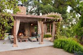 a piece of heaven in your backyard 17 pergola curtain decorating