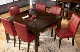Table Red Dining Room Furniture Sets Talkfremont - Red kitchen table and chairs