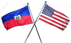 Us Flag Facts Haiti Flag Combined With American Flag Stock Photo Picture And