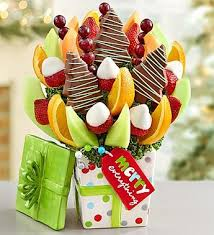 christmas fruit baskets 14 best christmas fruit bouquets images on christmas