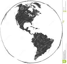 Map Of South And North America north and south america map background vector stock vector image