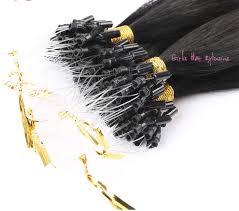 micro loop hair extensions girlis luxury hair extensions 1g 50g peruvian micro loop remy